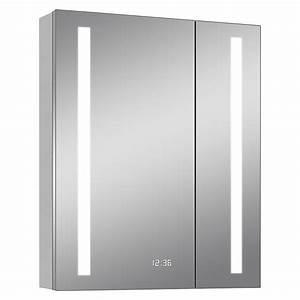 Spiegelschrank 12 Cm Tief : led spiegelschrank aluminio sun b x h 60 x 70 cm mit beleuchtung aluminium bauhaus sterreich ~ Indierocktalk.com Haus und Dekorationen