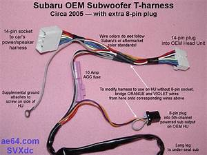 Subaru Forester Subwoofer Wiring Diagram