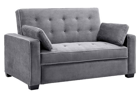 Bed Sleeper Sofa by Traditional Futon Augustine Grey Sofa Sleeper