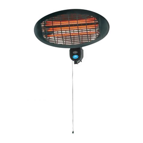 2000 watt outdoor oval wall mounted patio heater