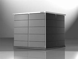 Geräteschuppen Aus Metall : ger teschuppen modern holz metall oder kunststoff garten q gmbh ~ Buech-reservation.com Haus und Dekorationen