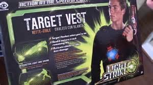 Light Strike Laser Tag by Light Strike Target Vest Video Review The Toy Spy
