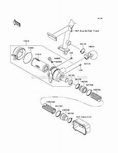 Kawasaki Kaf620-k6f Parts List And Diagram