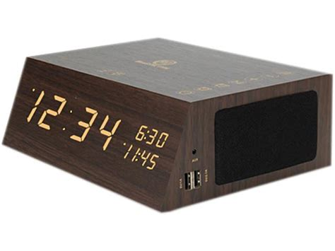 Bluetooth Alarm Clock Radio Speaker By Gogroove