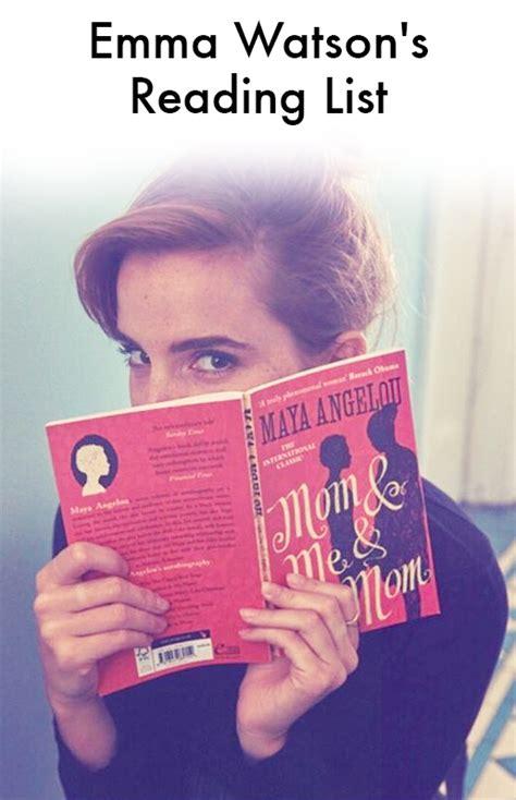 Emma Watson Book List Instyle
