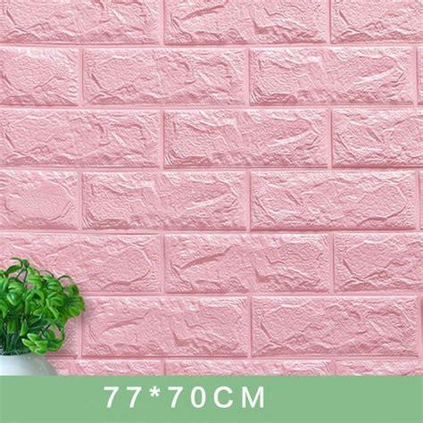 wall stickers decorate  adhesive foam bricks