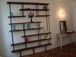 étagère Bibliothèque Bois : 1000 images about tag re on pinterest loft design and ~ Teatrodelosmanantiales.com Idées de Décoration