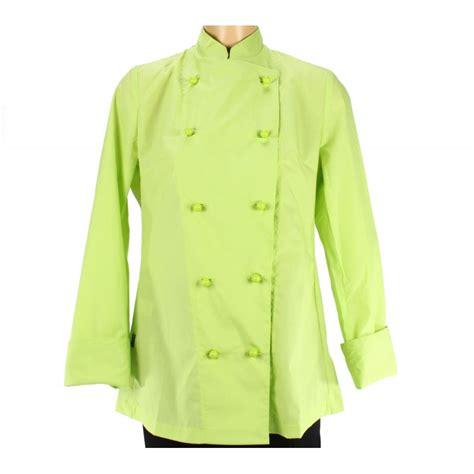 vetement cuisine femme vetement cuisinier pour femme couleur verte lisavet