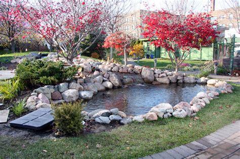 Better Homes & Gardens Test Garden Pond Renovated  Pond