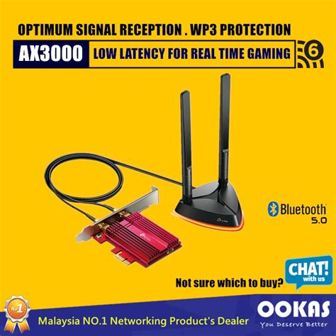 The 802.11ax or wifi 6 standard is. TP-Link TX3000E AX3000 Wi-Fi6 & Bluetooth 5.0 PCIe Wireless Adapter (PCI-E WiFi Card For Desktop ...