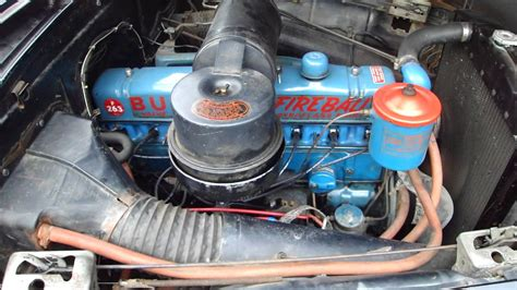 Buick 8 Engine by 1951 Buick Special Coupe Fireball Engine