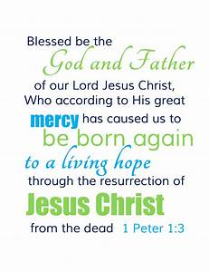 Free Easter Scripture Verse Printable for Your Home ...