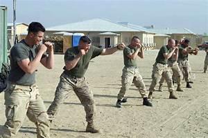 US Marine Corps (USMC) Marines assigned to Headquarters ...