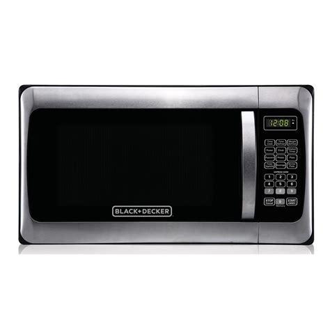 Stainless Steel Countertop Microwave by Black Decker 1 1 Cu Ft Countertop Digital Microwave In