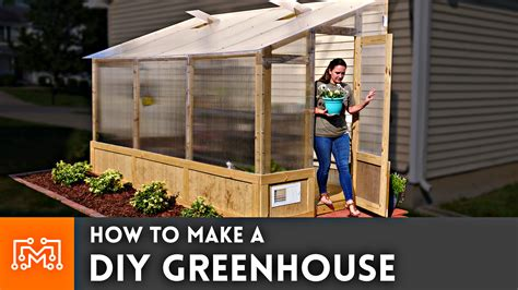 Along with the power of extending the growth season of your favorite plants, a greenhouse can provide a relaxing place to visit to get lost in your thoughts. How to Make a DIY Greenhouse - I Like To Make Stuff