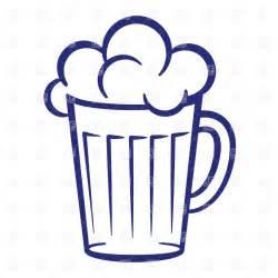 Clip Art Beer Mug with Foam