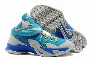 Cheap For Sale Nike Zoom Lebron Soldier 8 Photo Blue/White ...