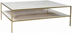 white marble brass coffee table chairish With white marble and brass coffee table
