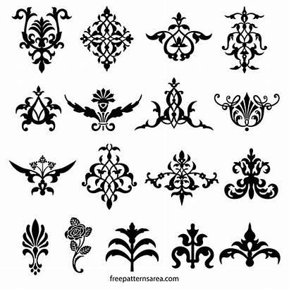 Decorative Vector Ornament Floral Elements Designs Flourish