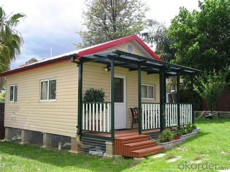 buy prefabricated house newest modern style light steel