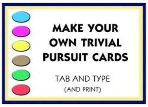 trivial pursuit cards hubpages