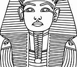 Sarcophagus Coloring Egyptian Drawing Pharaoh Ancient Pages Egypt Gods Getdrawings Goddesses History Clipartmag sketch template