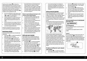 Manual Krontaler Radiogestuurd Horloge  Page 6 Of 6   Dutch