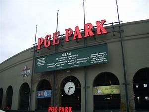 PGE Park Portland Oregon Neon Signs on Waymarking