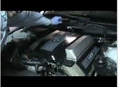 BMW M62 Intake Manifold Cover YouTube