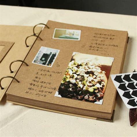 plain photo albums to decorate a4 ringbuch foto album 56 seiten kraft scrapbook album