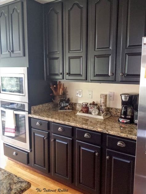 Pictures Kitchen Cabinets Painted Black by 25 Best Ideas About Cherry Kitchen Cabinets On