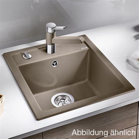 blanco kitchen sinks reviews blanco dalago 45 sink w 46 5 d 51 cm bowl silgranit 4783
