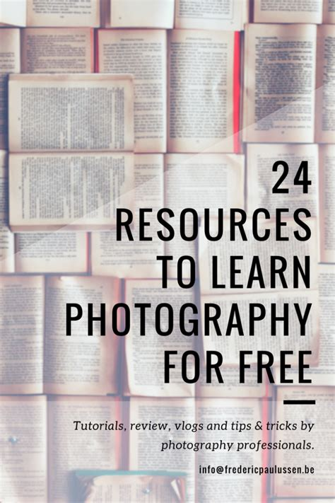 24 Resources To Learn Photography Online And For Free