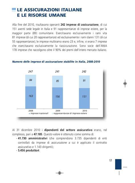 italiana assicurazioni sede legale l assicurazione italiana in cifre edizione 2010