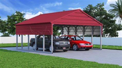 Steel Carport Kit by 18x26 Steel Carport Building