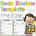 Book Review Template {FREE} by Erin Clark | Teachers Pay ...