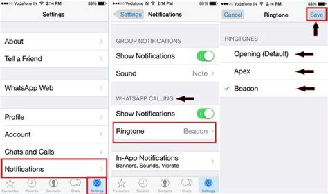 iphone notification sounds how to change whatsapp ringtone on iphone 8 8 plus x 7