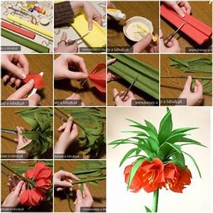 How to make Pretty Crepe Paper Flower step by step DIY ...