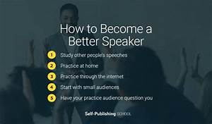 How To Become A Better Speaker  Improve Public Speaking