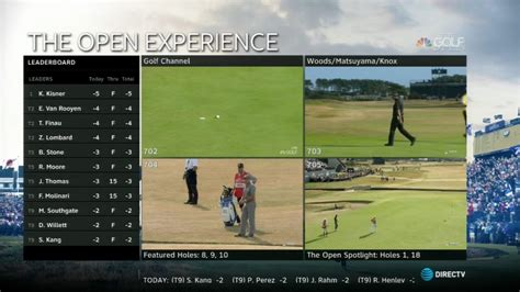 open championship mix channel reality check systems