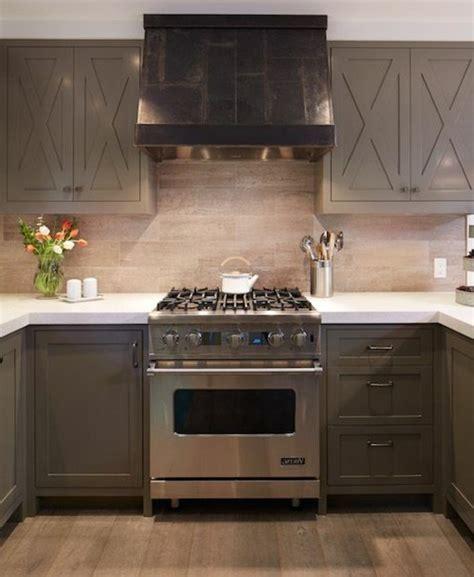 cuisine moderne taupe cuisine taupe 51 suggestions charmantes et très tendance