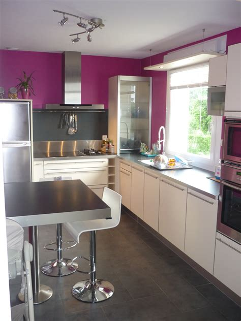 choix couleur cuisine decoration peinture cuisine moderne