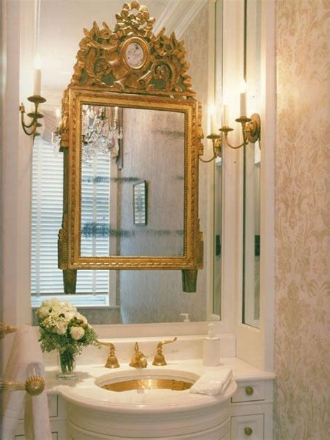 gold bathroom mirror 117 best images about unique mirrors on 1298