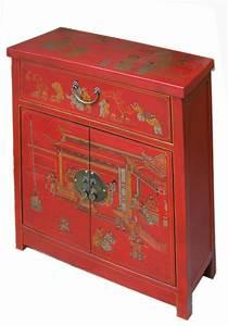 Meuble Chinois Rouge : meuble de rangement chinois rouge collections collection ~ Teatrodelosmanantiales.com Idées de Décoration