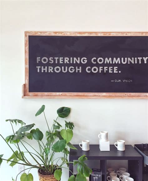Now serving craft coffee in downtown east lansing. Our vision. Photo: @jenennap #fostercoffeeco | The fosters, Coffee company, Coffee