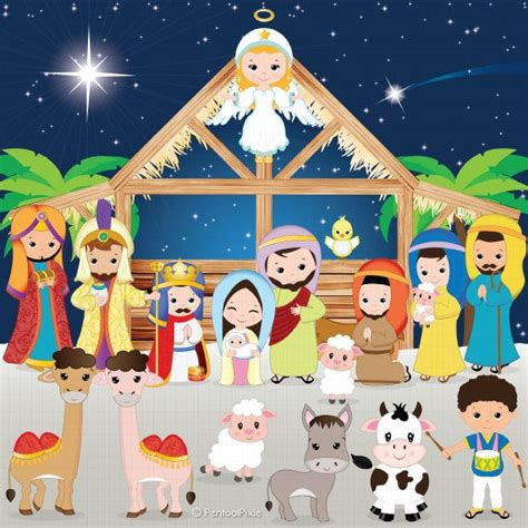 Nativity Clip Best 25 Nativity Clipart Ideas On The
