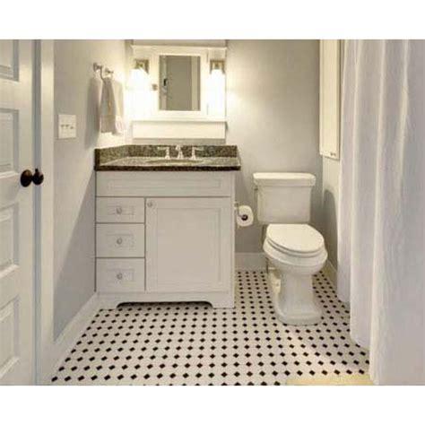 glazed porcelain mosaic octagonal dot black and white