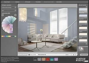 Schöner Wohnen Wohnzimmer Farben : kostenloser interaktiver farbdesigner sch ner wohnen farbe wohnzimmer pinterest sch ner ~ Indierocktalk.com Haus und Dekorationen