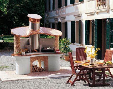 cuisine bois massif barbecue en pour équiper la cuisine d 39 été en 35 idées originales