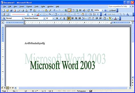 how to use word how to use microsoft word 2003 version controls
